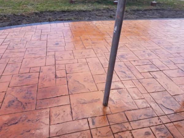 affordable stamped patio in denver