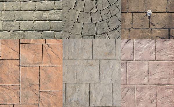 stamped concrete patterns denver