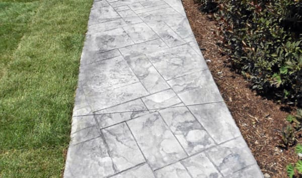 stamped concrete sidewalk denver