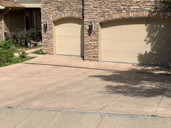 which style of concrete should i use for my driveway